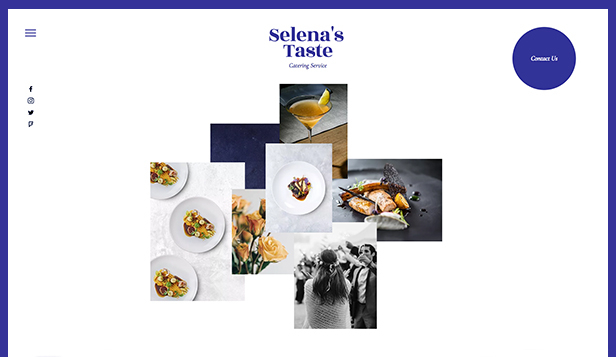Catering & Koch website templates – Catering