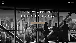 Landing Pages website templates - Business Coming Soon