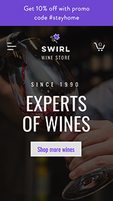 NOVINKY! website templates – Wine Store