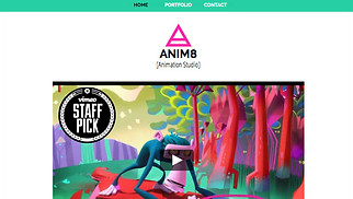 Graphic & Web website templates - Animation Studio
