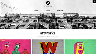 Arts & Crafts website templates - Urban Art Store