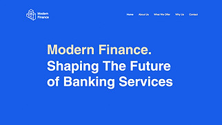 Finance & Law website templates - Financial Services
