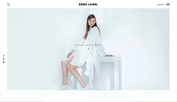 Mode en stijl website templates – Modeontwerper