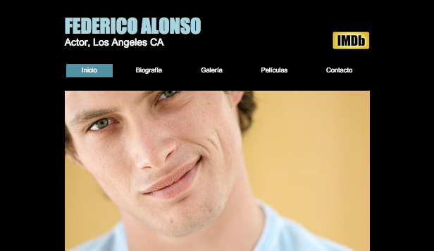 Cine y TV plantillas web – Actor