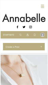Mode website templates – Modeblog