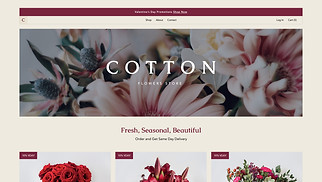 NEW! website templates - Flower Shop