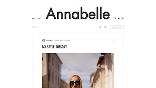 Fashion & Beauty website templates - Personal Style Blog