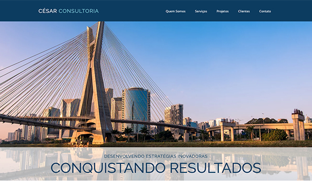 Mais Usados website templates – Consultoria